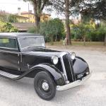 The 1933 Lancia Artena Faux Cabriolet.