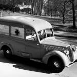 The Artena had a number of wartime roles- here as an ambulance.