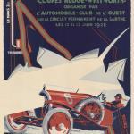 1926 Le Mans Grand Prix D'Endurance De 24 Heures poster.