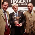 Hagerty's Angus Forsyth, John Dennis OBE and the VCR's Ben Cussons.