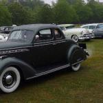 1936 Chrysler Airstream Coupe, winning best in show.