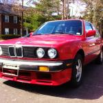 BMW E30 M3- still rising rapidly, 14.4% in quarter.