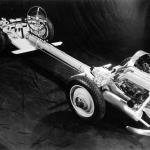 Mercedes-Benz 170H chassis showing 1697cc engine.