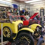 The Beaulieu workshop- restoring, re-building, maintaining.