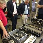 'Stan' talks us through the Lyon Bugatti 35C engine.