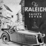 The Raleigh Safety Seven, as shown in an original 1934 brochure.