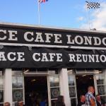 The world famous Ace Café.