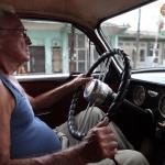 Cuba Taxi Driver.