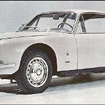 Brochure photograph, Alfa Romeo 2600 Sprint Zagato.