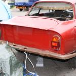 Looking folorn, a 2600SZ in need of restoration shows the cut-off tail and 2600 Sprint rear lights.