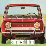 The Simca 1000