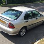 Capable chassis-Rover 400