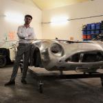 Merlin with his DB4 GT project