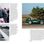 Moss and Mike Hawthorn; a Vanwall in Morocco.