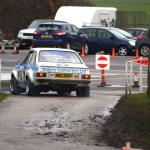 Vince Sillett and Sam Keeley in a classic rally view