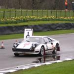 Kevin Jones in his Ferrari 308 Michelotto Group 4