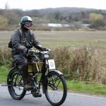 All manner of vintage motorcycles took part.