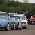 Bicester Heritage: an eclectic queue!