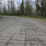 The Pirelli Test Track- now unused but varied bricks still visible.