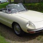 1966 Alfa 1600 Spider Duetto