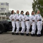 Grid girls and Pacey Hassan Special