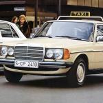 Mercedes-Benz W123 taxi