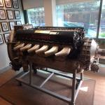 Rolls Royce Merlin- Boultbee's foyer decoration!