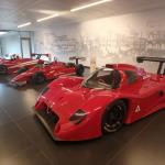 The first hall: Alfa's Racing heritage.