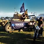 The Hagerty Stand go all Army
