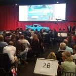 Hagerty's view of the Porsche 911 GT2 on the rostrum at RM Sotheby's London