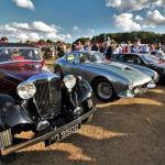 Best in Show contenders: SS 2 Saloon, Ferrari 250 GT SWB and BMW M1 Art Car.