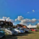Something for everyone: modern supercars, air display, VIP pavillion.