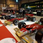 All seven Lotus 49s