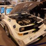 Dave Rowe's Audi Quattro S1 E2 is destined for Pike's Peak.