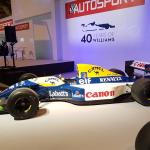 Mansell's 1992 Williams FW14B