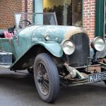Medcalf- the Bentley known as 'Scruffy'