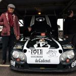De Cadenet reunited with his Le Mans steed. (photo- S. Mosley)