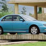 Rover 75- even the colour is cool.