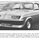 Vauxhall Firenza HP 'Droop Snoot'.