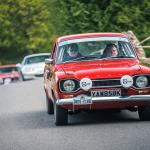 Spoke Mag's The Toms in our Ford Escort