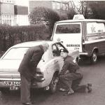 RAC Patrol with Ford Transit Mk 1 (1973)