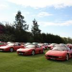 Ferrari Owners' Club meeting at Horsham