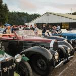 The front row - Bugattis, MGs and more