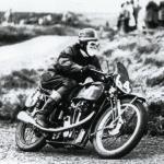 Les Archer, 1948 Velocette KTT