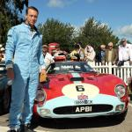 Frank Stippler with the Bamford 250 GTO before it all went wrong