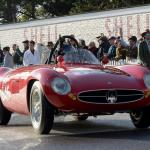 Maserati A6GCS about to take to the track with Mathias Sielecki at the wheel
