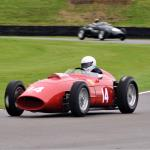 Tony Smith in Ferrari 246 Dino with Simon Diffey giving chase