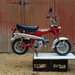 Honda ST50 'monkey bike'