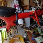 Stripped Monkey Bike
