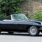 Jaguar E-Type Flat Floor Roadster (Photo- Bonhams)